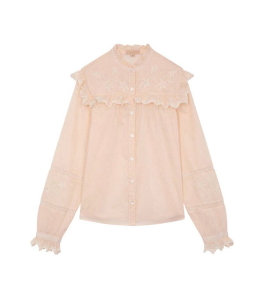 LOUISE MISHA WOMEN Blouse MARBELLA Light Blush