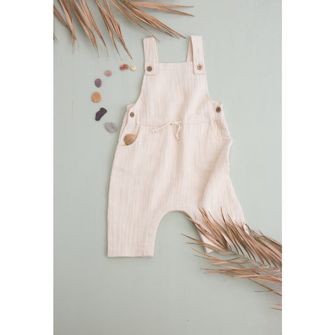 LOUISE MISHA BOYS Overalls Amuel Cream BABY AND KIDS
