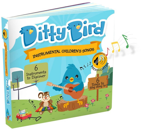Ditty Bird Instrumental Children's Songs Board Book
