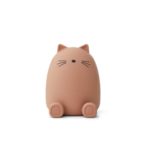 Liewood  Palma Money Bank - Cat dark rose