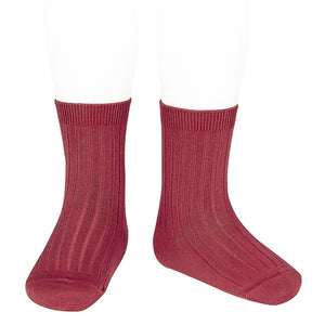 Condor ribbed ankle sock 554