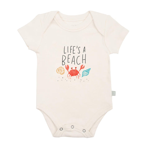 FINN + EMMA BABY BODY GRAPHIC BODYSUIT life's a beach