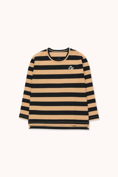 "TINYCOTTONS ""TINY FUJI"" STRIPES TEE"