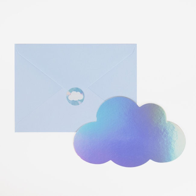 My Little Day invitations - clouds