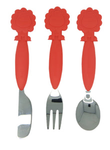 Marcus & Marcus 6 COLOURS CUTLERY SET 3pce Knife, Fork and Spoon Set