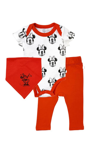 Finn + Emma MINNIE SHORT SLEEVE bodysuit, pant & bib