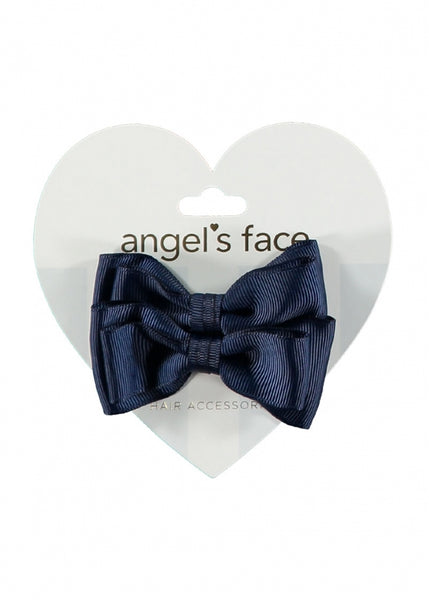 Twin Pack Bows Navy
