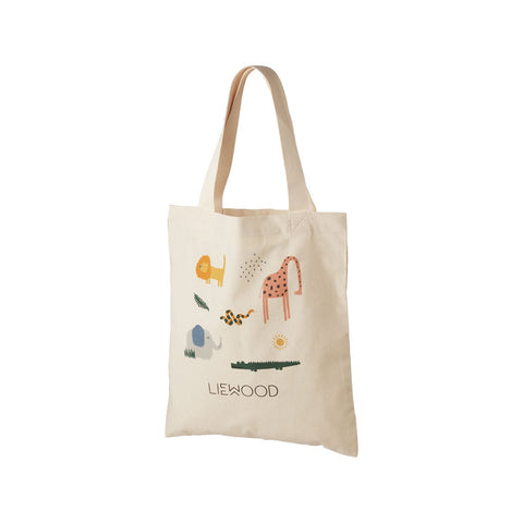 LIEWOOD  Tote Bag Small - Safari sandy mix