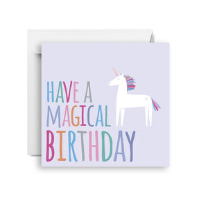 Sprout and Sparrow Magical birthday Birthday Card Small