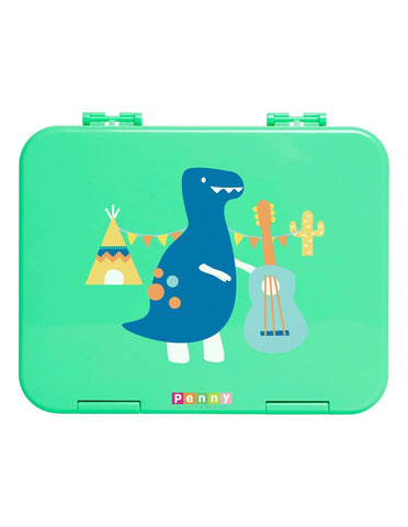 Penny Scallan Design Bento Box Large Dino Rock - Navy