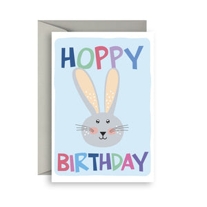 Sprout and Sparrow Hoppy birthday Birthday Card