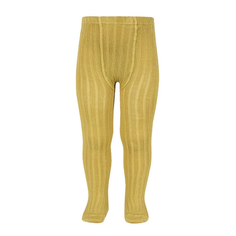 Condor BASIC RIB TIGHTS MUSTARD ribbed tight 629