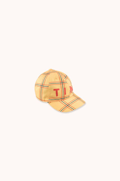 "TINYCOTTONS CHECK"" CAP"