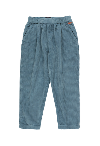 TINYCOTTONS SOLID PLEATED PANT *sea blue*