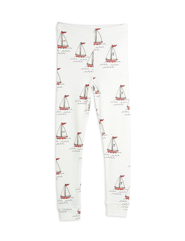 MINI RODINI Sailing Boats Leggings