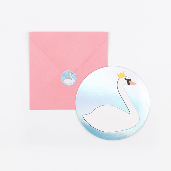 My Little Day invitations - swan