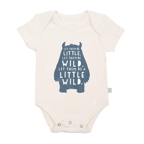 Finn + Emma graphic bodysuit WILD CHILD