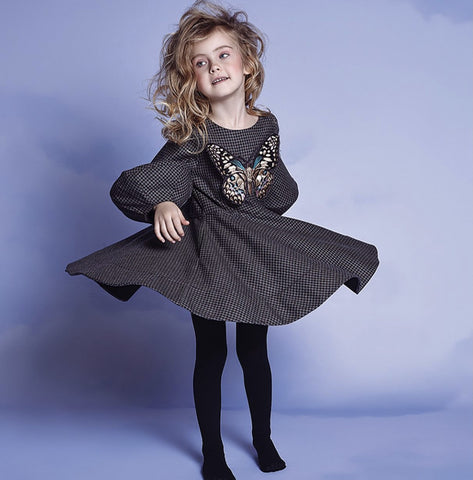 NIKOLIA  BUTTERFLY dress kids and adults