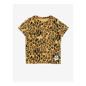 MINI RODINI BASIC LEOPARD T-SHIRT
