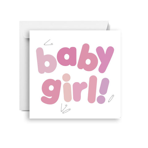 Sprout and Sparrow Baby girl (small) CARD