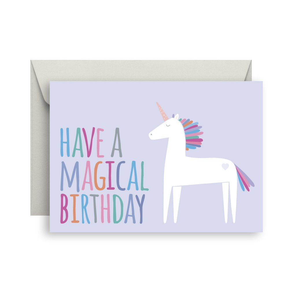 Sprout and Sparrow Magical birthday Birthday Card