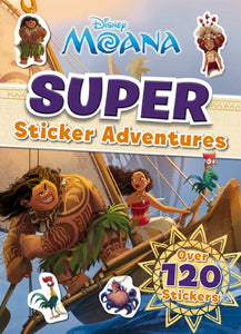 Disney Moana: Super Sticker Adventures Activity Book