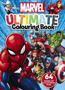 Marvel: Ultimate Colouring Book activity book