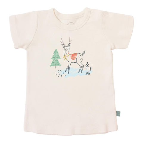 Finn + Emma graphic tee deer