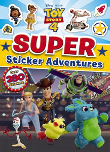 Toy Story 4: Super Sticker Adventures Activity Book