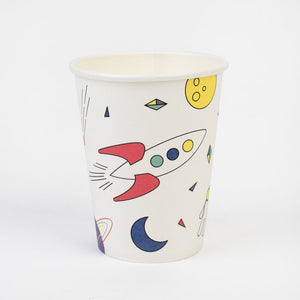 My Little Day paper cups - cosmic