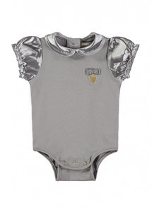 Angel's Face Ash Grey Babygrow