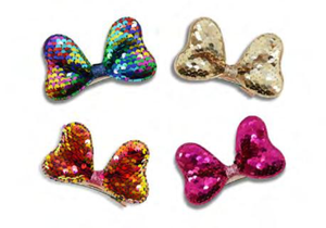 MILK X SODA SEQUINS MINNIE'S BOW HAIR CLIP