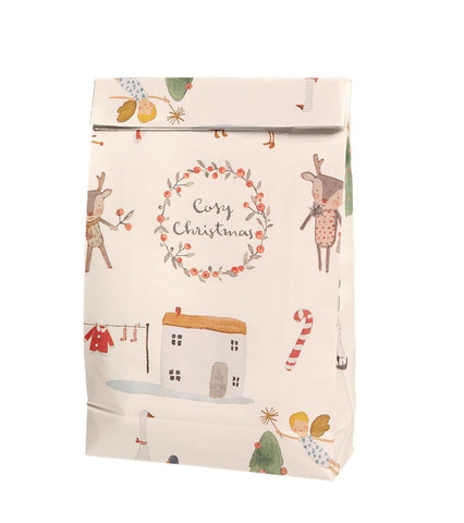 MAILEG  Gift Bag Cosy Christmas white