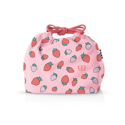 MONBENTO Pochette Graphic Bag Strawberry