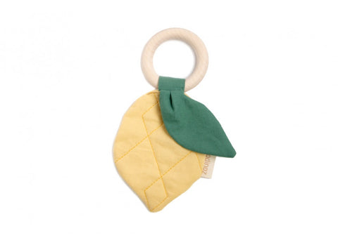 Nobodinoz LEMON TEETHER RING