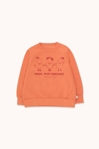 "TINYCOTTONS ""PEARS CONFERENCE"" SWEATSHIRT"