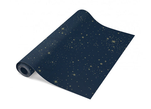 Nobodinoz Wallpaper 52x1005 gold stella/ night blue