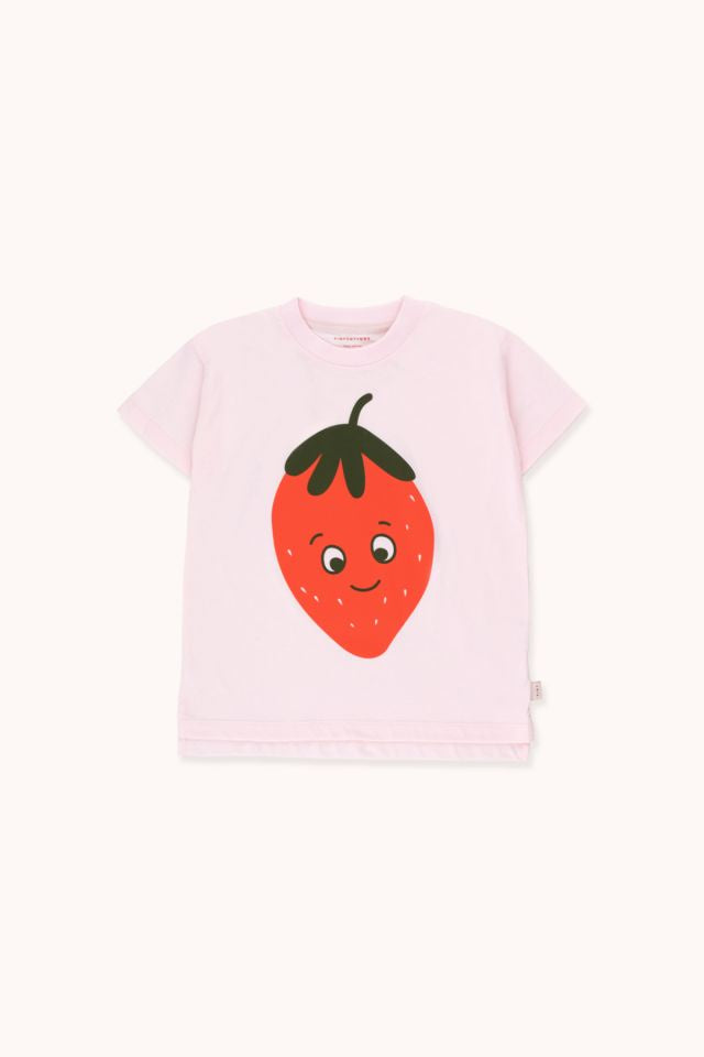 "TINYCOTTONS ""STRAWBERRY"" TEE KIDS"