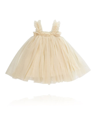 DOLLY BY LE PETIT TOM ® TUTU DRESS BEACH COVER UP CREAM