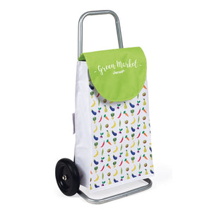 JANOD - GREEN GROCER SHOPPING TROLLEY