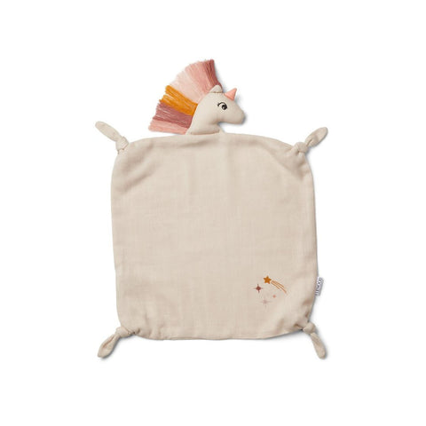 Liewood Agnete Cuddle Cloth - Unicorn sandy