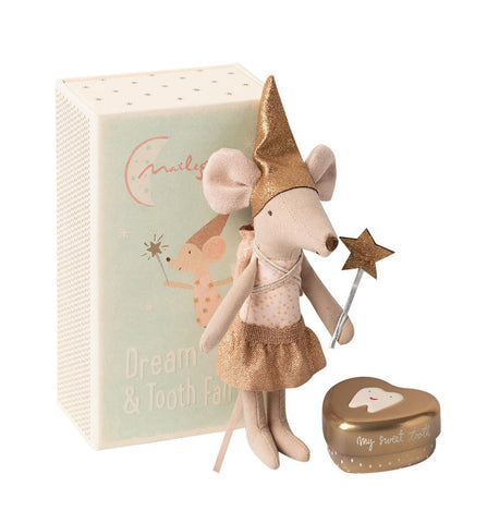 MAILEG Toothfairy Sister Mouse in box
