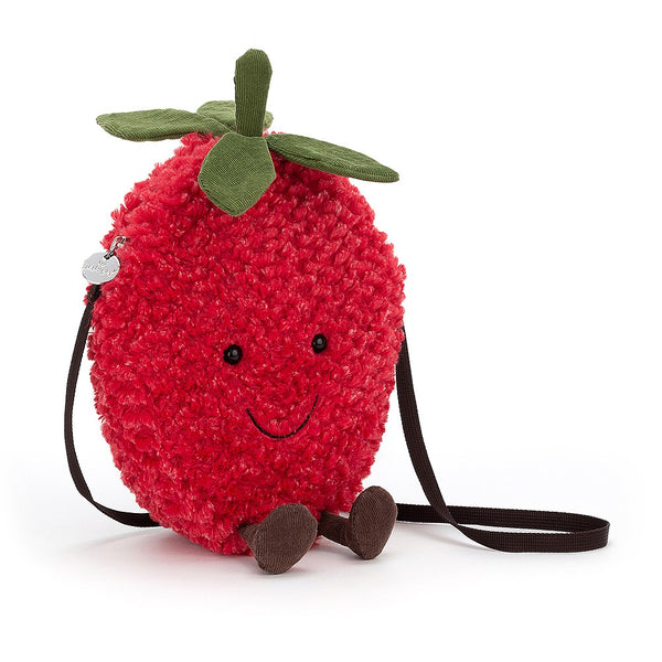 JELLYCAT Amuseable Strawberry Bag