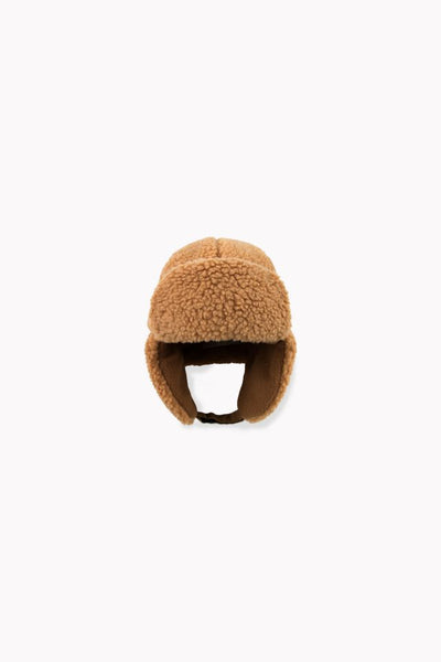 TINY COTTONS SHERPA CHAPKA *brown*