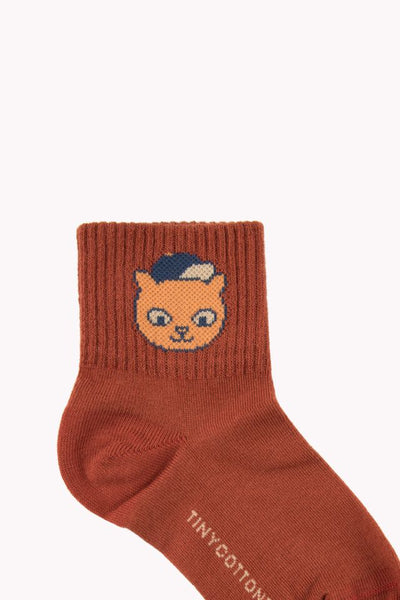 "Tiny Cottons ""CAT"" MEDIUM SOCKS"
