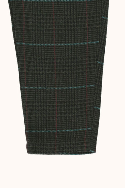 TINYCOTTONS  TWEED PLEATED PANT *multicolor*
