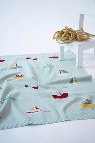 INDUS DESIGN Tugboat Blanket