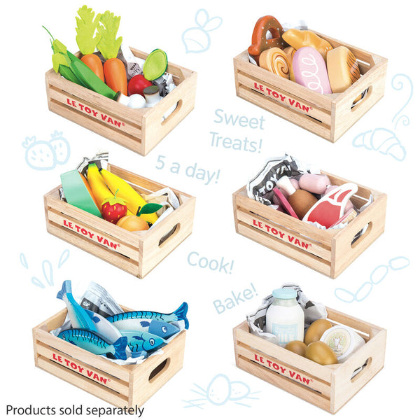 Le Toy Van Honeybake Baker's Basket in Crate