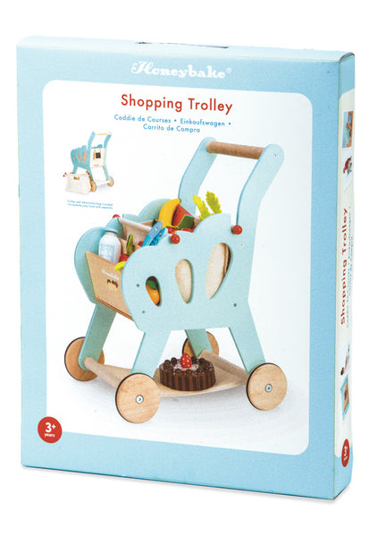 Le Toy Van Honeybake Shopping Trolley