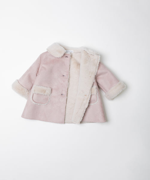 Fina Ejerique  PINK VINTAGE COAT  DOUBLE-FACED O20A0930